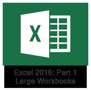 Excel 2016 Part 1, Lesson 6: Managing Large Workbooks
