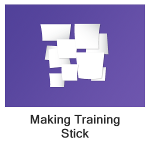 Making Training Stick