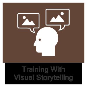 Training with Visual Storytelling